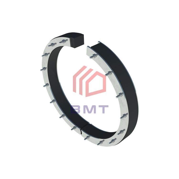 Уплотнительная вставка ВМТ С 250/110/40 предназначена для герметизации ввода трубы с DN 110 в отверстие 250 мм.