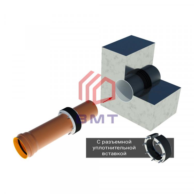 Комплект для герметизации ввода трубы DN 110 - 2