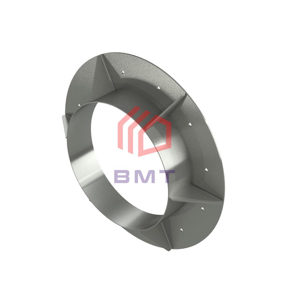 Прижимной фланец ВМТ для гидроизоляции ввода трубы в здание.