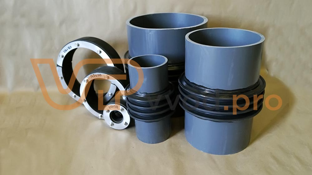 Комплекты для герметизации вводов труб и кабелей.