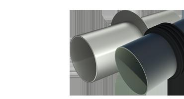 Гидрогильзы ВМТ из ПВХ и Нержавеющей стали